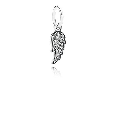 pandora angel wing charms