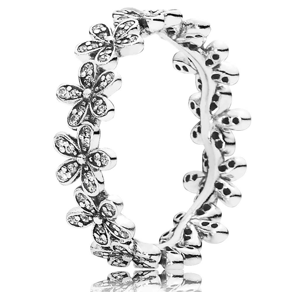 Pandora Flower Ring Pandora Jewelry Collection Rings Charms