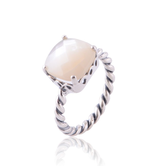 93db6f785 Pandora Pearl Ring : Pandora Jewelry Collection | rings, charms ...