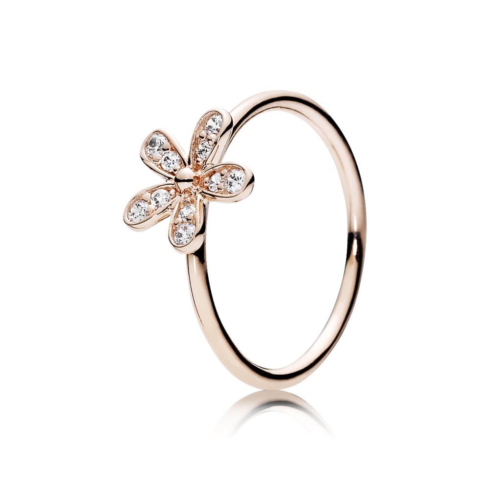 pandora rings rose gold